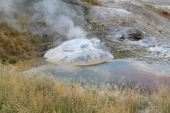 Upper Geyser Basin Stock Image
