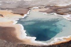 Upper Geyser Basin - Heart Spring Stock Image