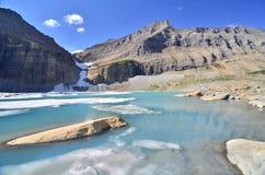Upper Grinnell Lake, Glacier National Park Stock Image