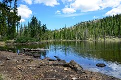 Upper Gumboot Lake Royalty Free Stock Images