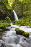 Upper Horsetail Falls, Columbia Gorge Stock Images