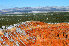 Upper Inspiration Point Bryce Canyon Royalty Free Stock Image