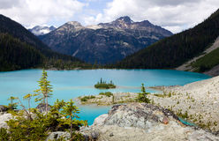 Upper Joffre lake Stock Image