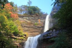 Upper Kaaterskill Falls Royalty Free Stock Photos