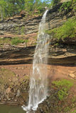 Upper Kaaterskill Falls Rainbow Stock Photo