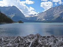 Upper Kananaskis Lake, Canada. Kananaskis Country is set at the foothills of the Rockies and is popular for outdoor activities Stock Photography
