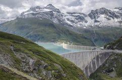 Upper Kaprun dam 1, Austria Royalty Free Stock Photography