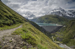 Upper Kaprun dam 2, Austria Royalty Free Stock Photos