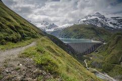 Upper Kaprun dam 2, Austria Royalty Free Stock Photos