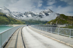 Upper Kaprun dam 3, Stauseen, Austria Royalty Free Stock Photos
