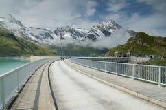 Upper Kaprun dam 3, Stauseen, Austria Royalty Free Stock Photos