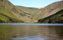 Upper Lake in Glendalough Ireland Royalty Free Stock Image