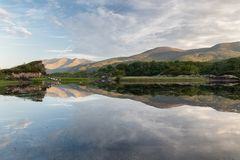 Upper Lake Killarney National Park. Upper Lake is a lake in Killarney National Park, County Kerry, Ireland. It is one of the famous Lakes of Killarney, along royalty free stock images