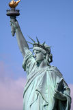 Upper liberty statue Royalty Free Stock Photography