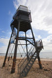 Upper lighthouse in dovercourt Stock Images