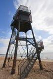Upper lighthouse in dovercourt Stock Images