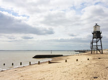 Upper lighthouse in dovercourt Royalty Free Stock Image