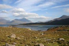 Upper Loch Torridon. Looking toward Mullach an Rathain Royalty Free Stock Photo
