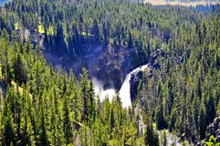 Upper & Lower Falls Royalty Free Stock Image