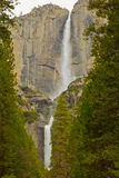 Upper and Lower Yosemite Falls Stock Images