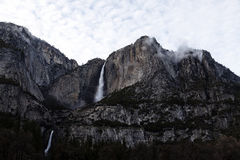 Upper And Lower Yosemite Falls National Park California Stock Photos