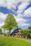 Upper Lusatian house Royalty Free Stock Photo