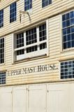 Upper Mast House Shed. In Historic Chatham Naval Dockyard Kent royalty free stock photo