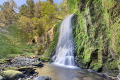 Upper McCrod Creek Falls Royalty Free Stock Images