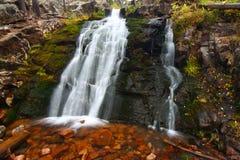 Upper Memorial Falls in Montana Royalty Free Stock Image