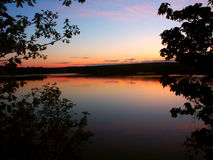 Upper Michigan Sunset Stock Images