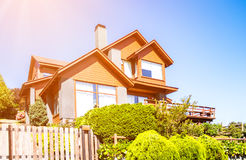 Upper Middle Class House Royalty Free Stock Photography