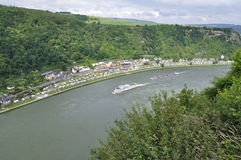 Upper Middle Rhine Valley Stock Photos