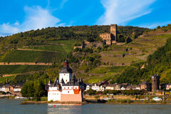 Upper Middle Rhine Valley, World Heritage Site royalty free stock photography