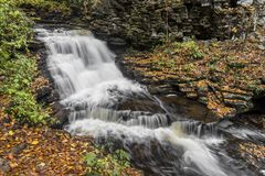 Upper Mohican Falls Royalty Free Stock Photography