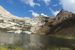 Upper Monarch Lake. Sequoia National Park Stock Image