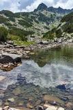 Upper  Muratovo lake, Pirin Mountain Royalty Free Stock Photo
