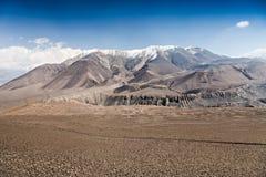 Upper Mustang landscape Stock Photo