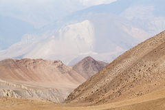 Upper Mustang landscape Royalty Free Stock Image