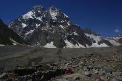 Upper naltar. Is nice place by the pakora trek in karakoram himalaya Royalty Free Stock Photography