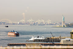 Upper New York Bay Royalty Free Stock Photos