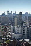 Upper New York City view Royalty Free Stock Photo