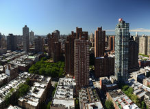 Upper New York City view Royalty Free Stock Image