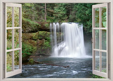 Upper North Falls Royalty Free Stock Image