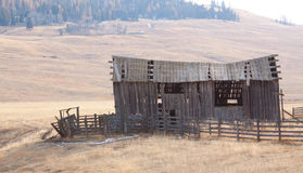 Upper Okanogan Highlands Old Homestead. Royalty Free Stock Images
