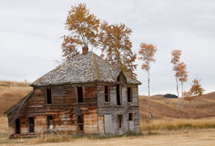 Upper Okanogan Highlands Old Homestead. Royalty Free Stock Photos