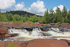 Upper Onaping Falls In Northern Ontario Royalty Free Stock Image