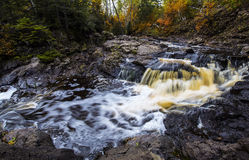 Upper Onion River. Water Fall Stock Photos