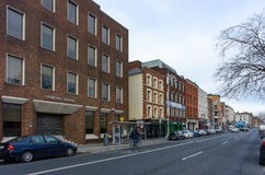 Upper Ormond Quay in Dublin Royalty Free Stock Photography