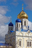 The upper part of the Cathedral. Stock Photo