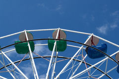 Upper part of ferris wheel Stock Photography
